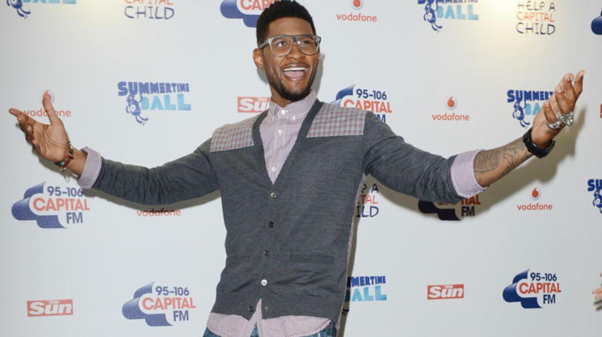 Usher obtient la garde exclusive de ses deux enfants