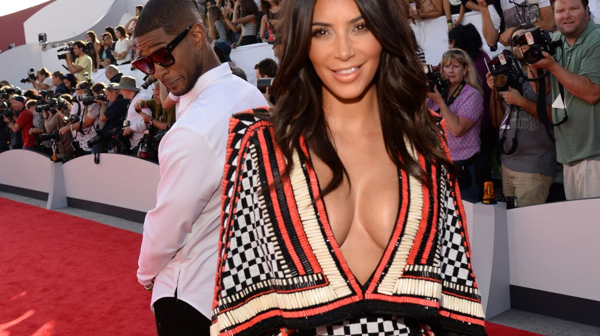 PHOTO Usher, nouvelle victime des fesses de Kim Kardashian