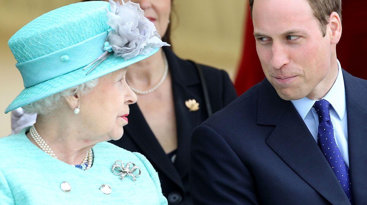 L'émouvante déclaration du prince William à sa grand-mère, la reine Elizabeth II
