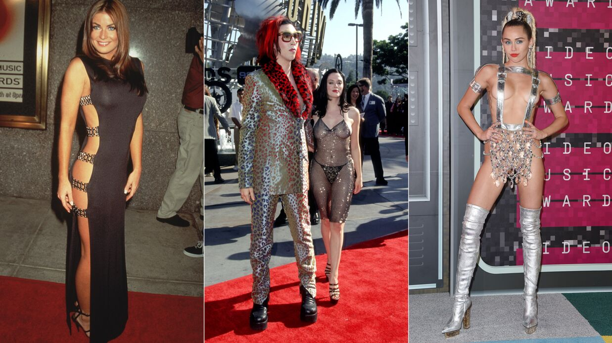 PHOTOS Les looks les plus sulfu­reux et impro­bables de l'his­toire des MTV Video Music Awards
