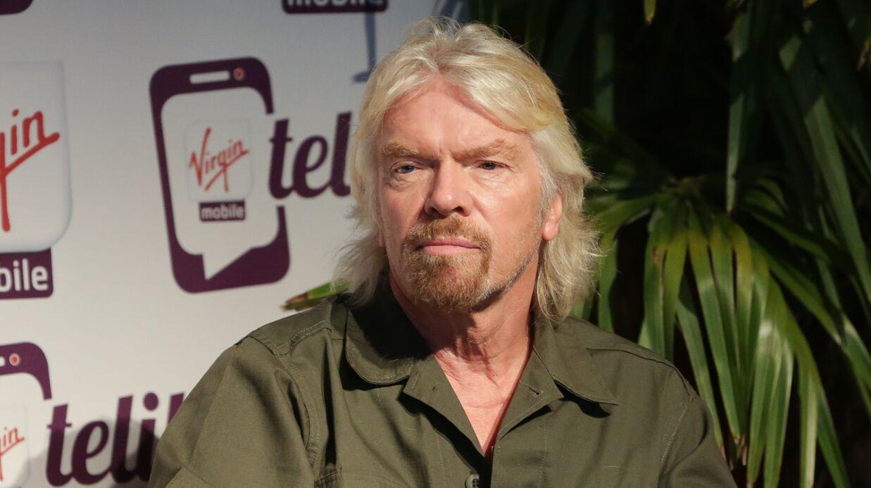 Richard Branson dévoile les photos choc de son terrible accident de vélo