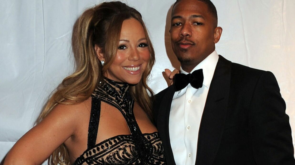 Mariah Carey et son mari à Paris pour leur anniversaire de mariage