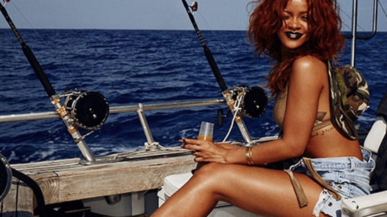 PHOTOS Rihanna: la pêcheuse la plus sexy d'Hawaï