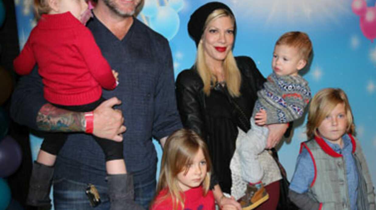 Tori Spelling trompée par son mari peu avant Noël