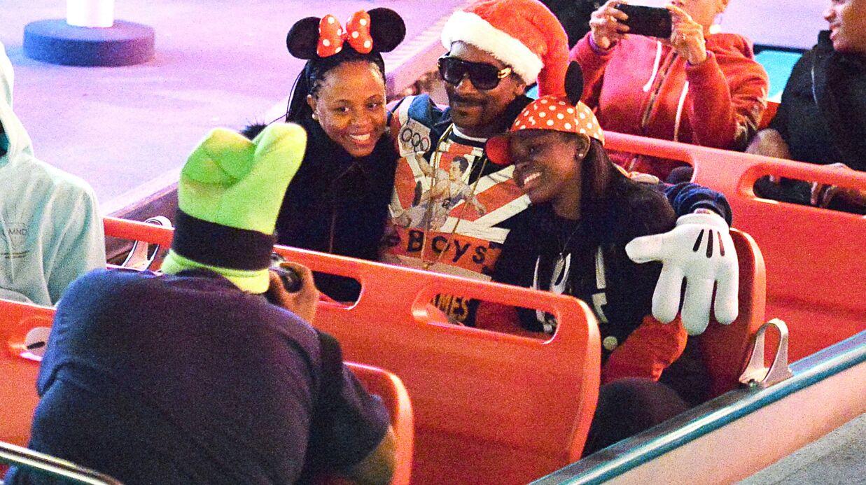 PHOTOS Snoop Dogg comme un gosse pour un Noël en famille à Disneyland