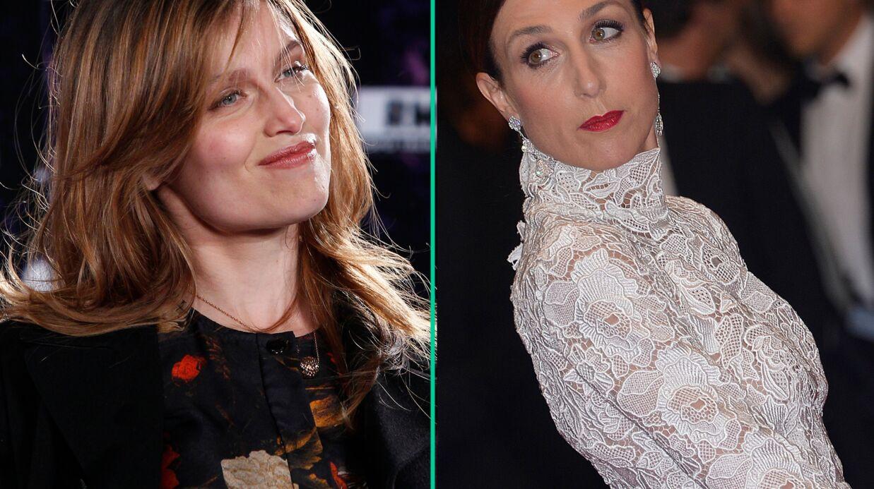 Elsa Zylberstein veut faire arrêter le tournage d'un téléfilm avec Laetitia Casta