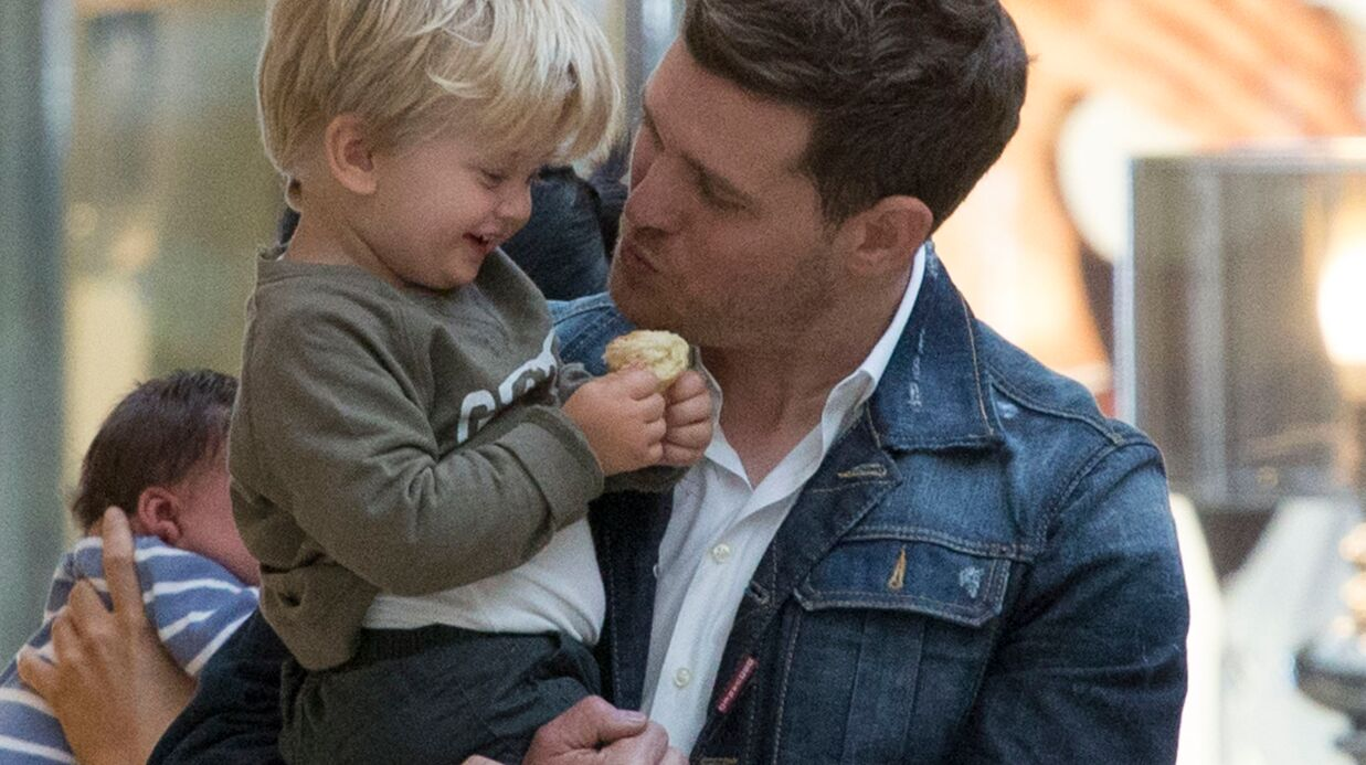 Michael Bublé: son fils de 2 ans admis d'urgence à l'hôpital après s'être ébouillanté