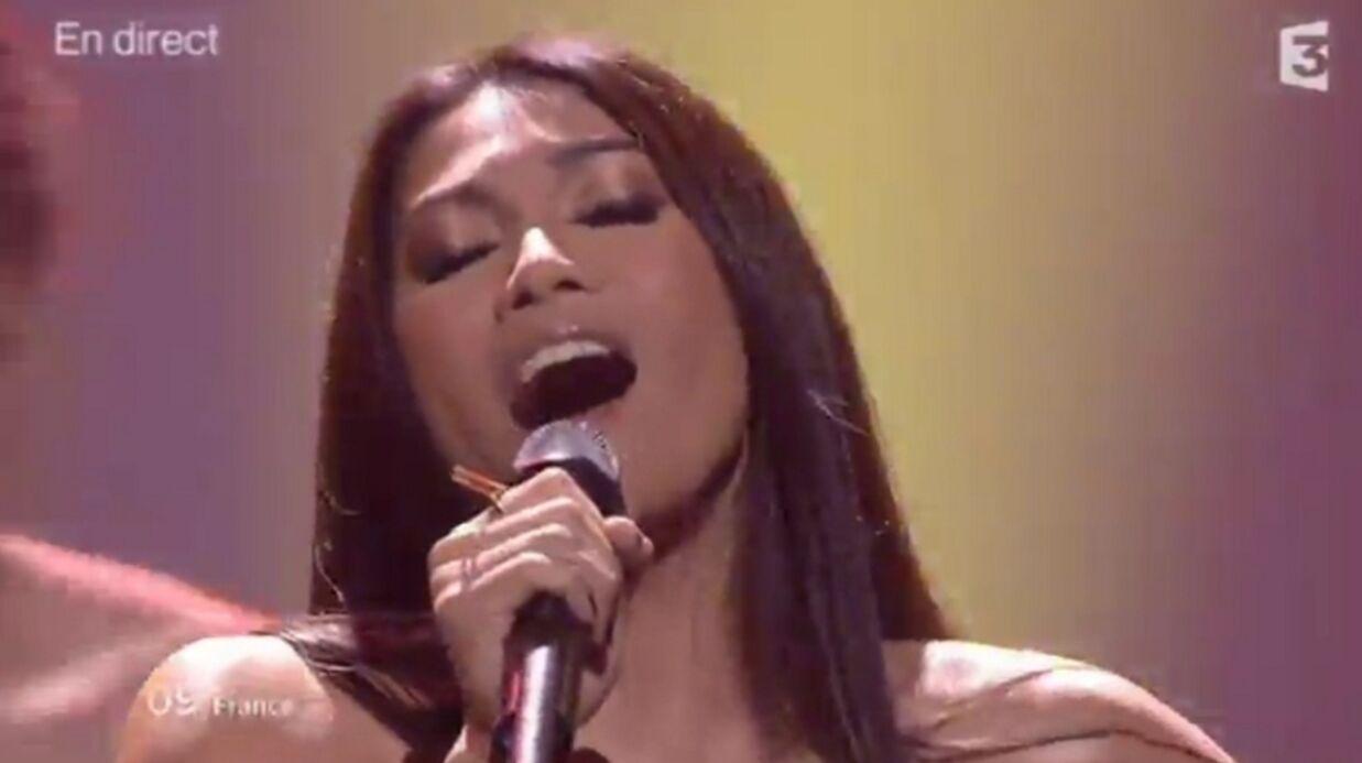 VIDEO Anggun trouve sa défaite à l'Eurovision injuste