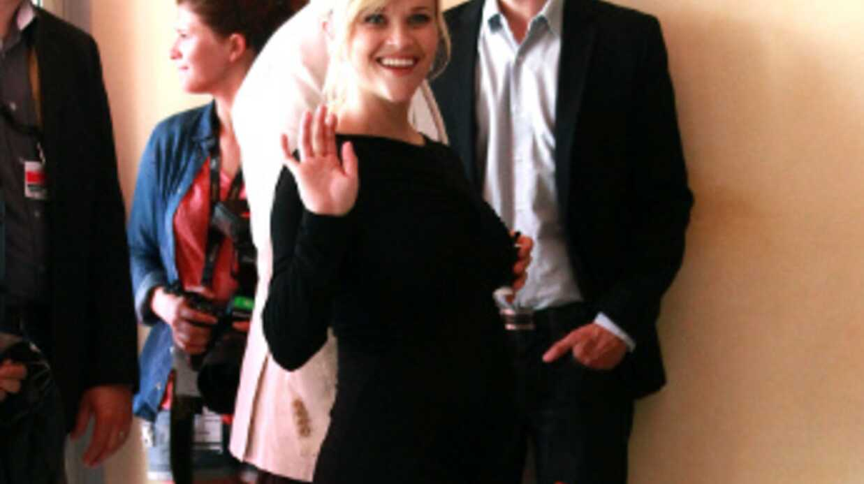 PHOTOS Reese Witherspoon enceinte à Cannes pour Mud