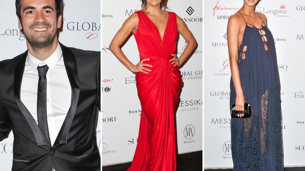 PHOTOS Global Gift Gala d'Eva Longoria: la robe sexy de Noémie Lenoir, Alex Goude présente son mari