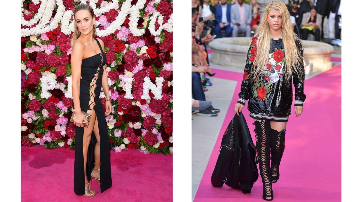 PHOTOS Cannes 2017: Eva Longoria et Paris Hilton très (très) décolletées au défilé Philipp Plein
