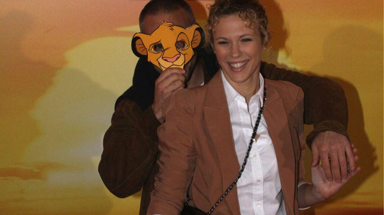 PHOTOS Lorie et Philippe Bas amoureux pour Le Roi Lion 3D