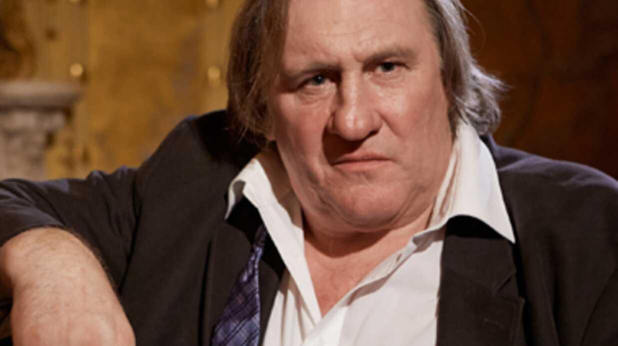 Gérard Depardieu s'est fait voler son scooter à Paris