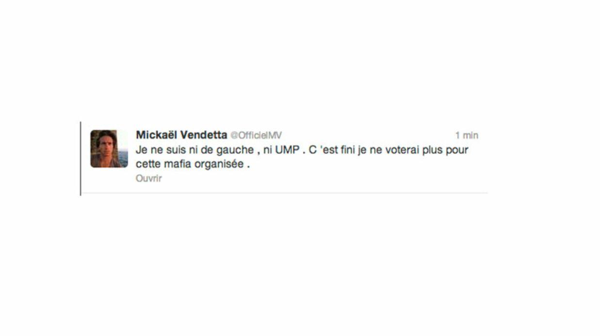 Nouveau coup dur pour l'UMP: Mickaël Vendetta quitte le navire