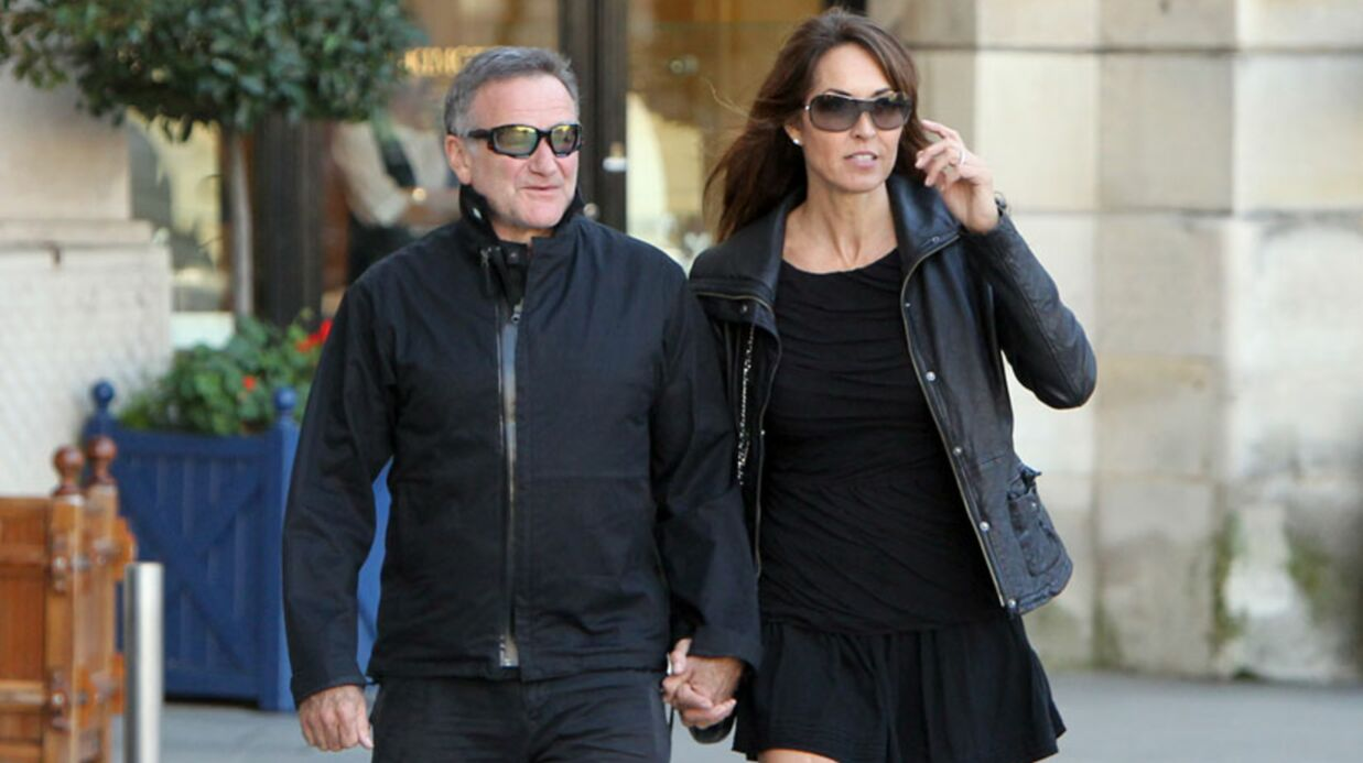 DIAPO Robin Williams en lune de miel HOT à Paris