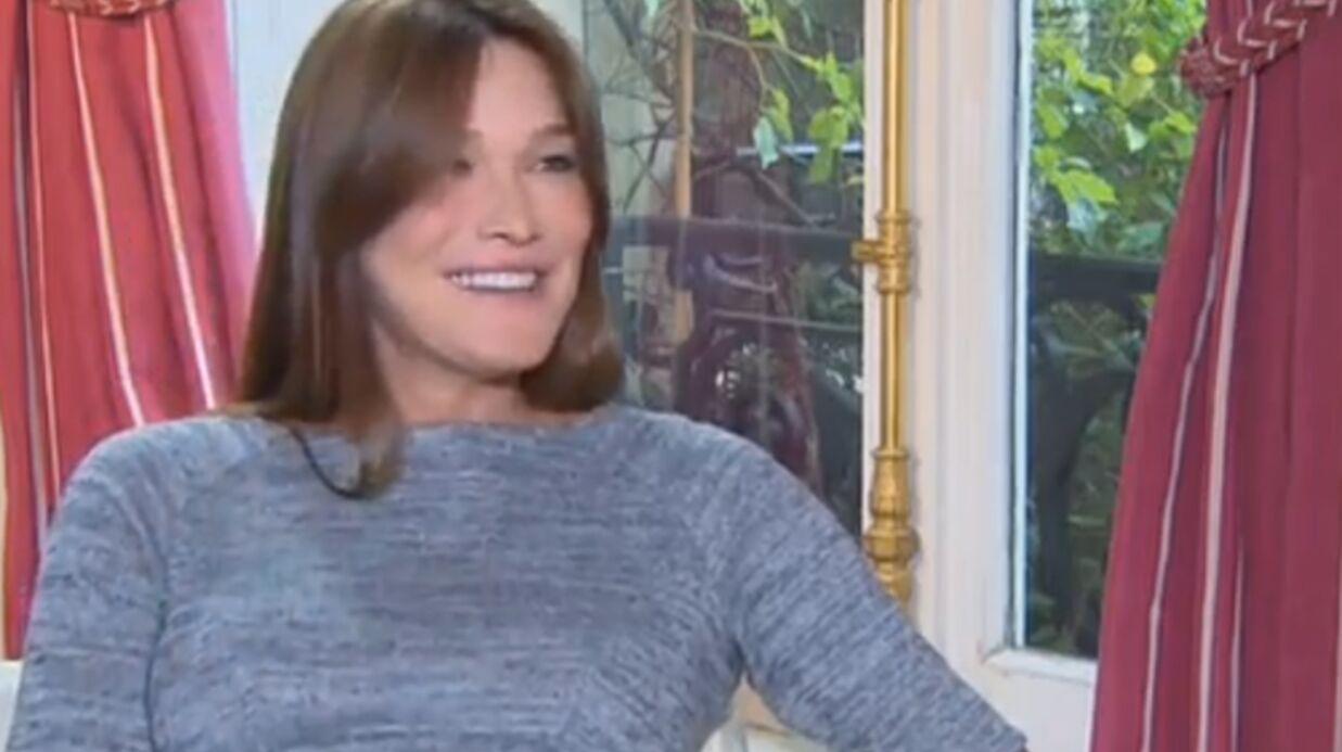 Carla Bruni raconte comment Nicolas Sarkozy l'a draguée