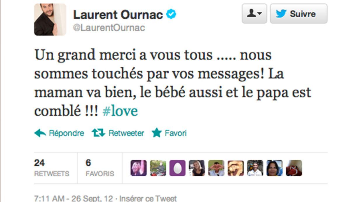 Laurent Ournac (Camping Paradis) est papa