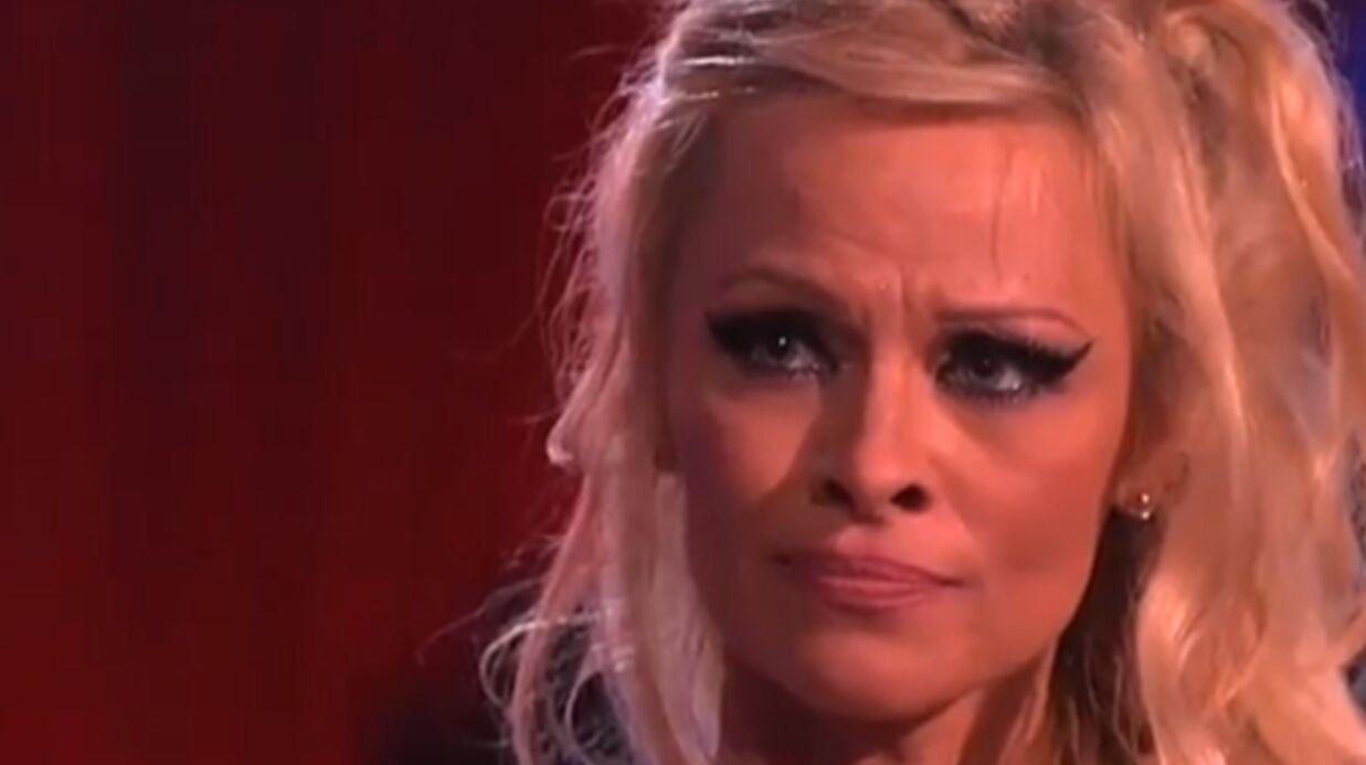 Les larmes de Pamela Anderson, première éliminée de Danse avec les stars