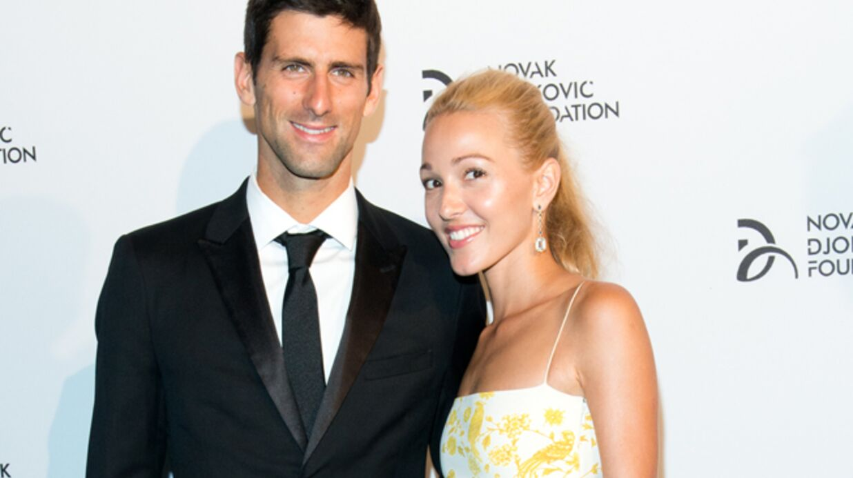 Novak Djokovic s'est fiancé à Jelena Ristic
