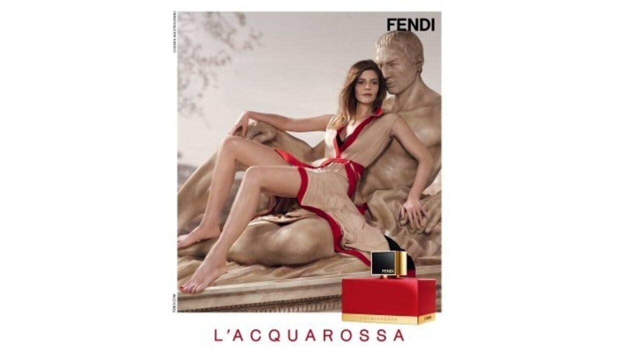 L'Acquarossa, un parfum rouge passion signé Fendi