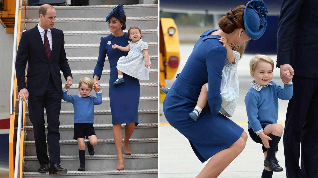 PHOTOS Kate Middleton, le prince William et leurs enfants ont déjà séduit le Canada