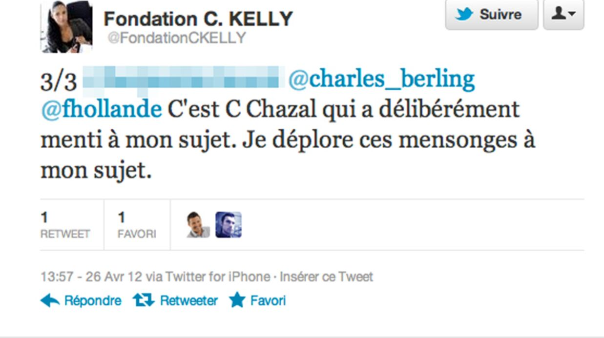 Claire Chazal s'at­tire les foudres de Chris­tine Kelly du CSA