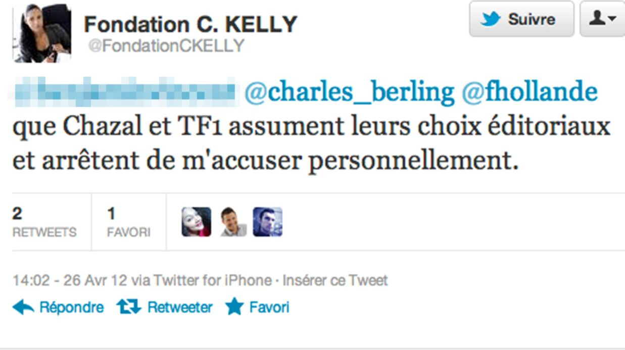 Claire Chazal s'attire les foudres de Christine Kelly du CSA