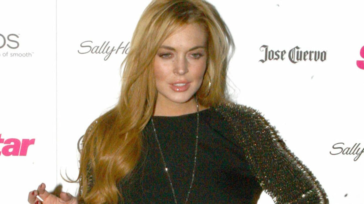 Lind­say Lohan détes­table sur le tour­nage de Glee