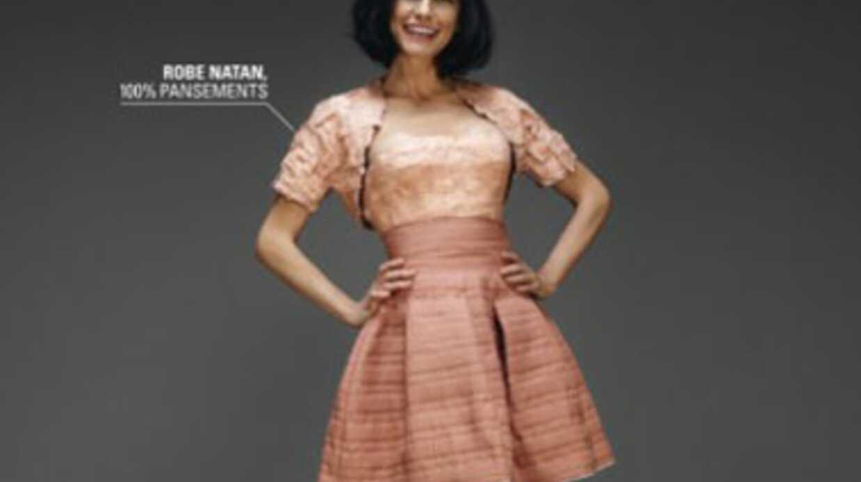 PHOTOS Lio et sa robe entièrement composée de… pansements