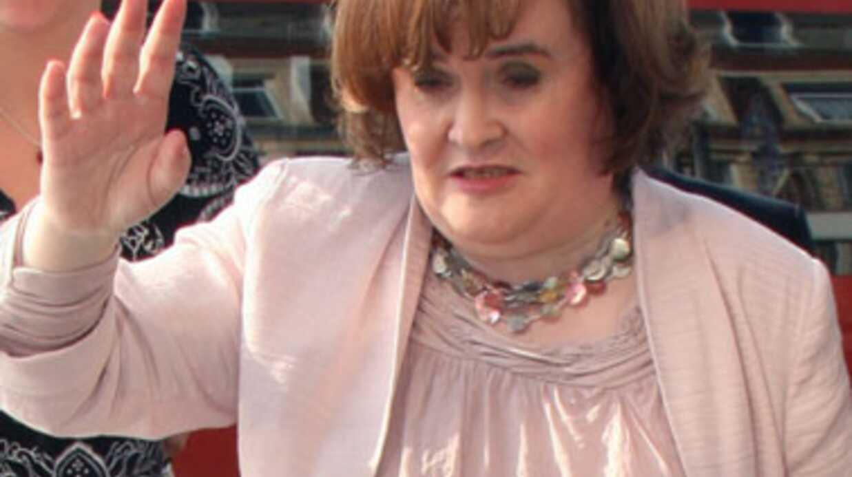 Susan Boyle terrifiée par la tentative d'intrusion d'un fan