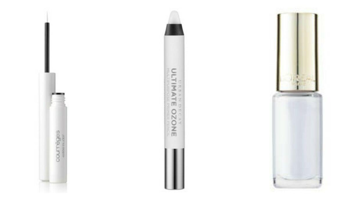 Tendance make-up: une touche de blanc!