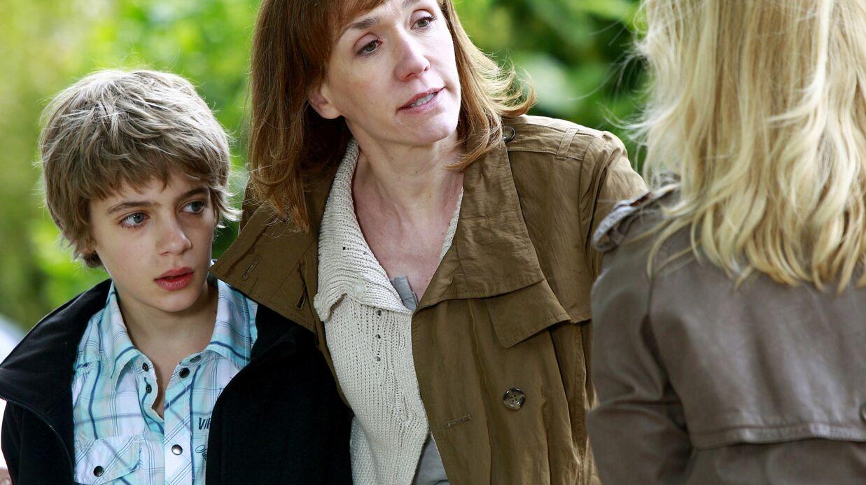 Virginie Lemoine évoque avec beaucoup d'émotion l'ultime jour de tournage de Famille d'accueil
