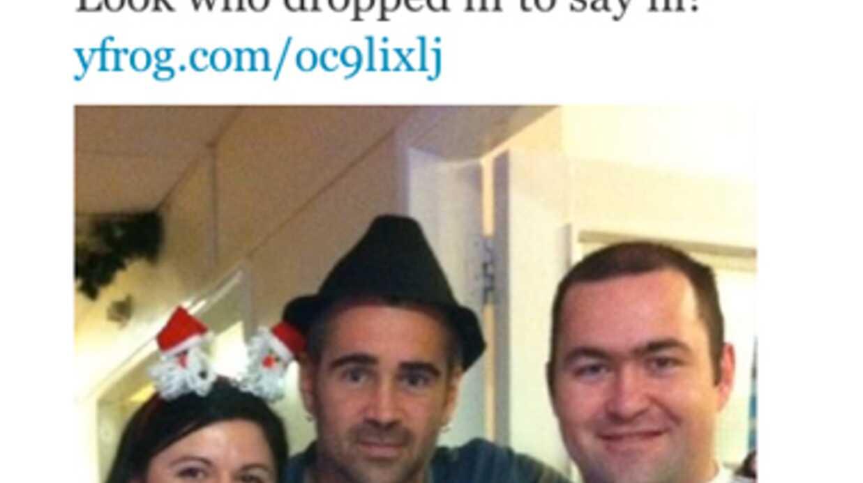 Colin Farrell passe Noël à l'hôpital