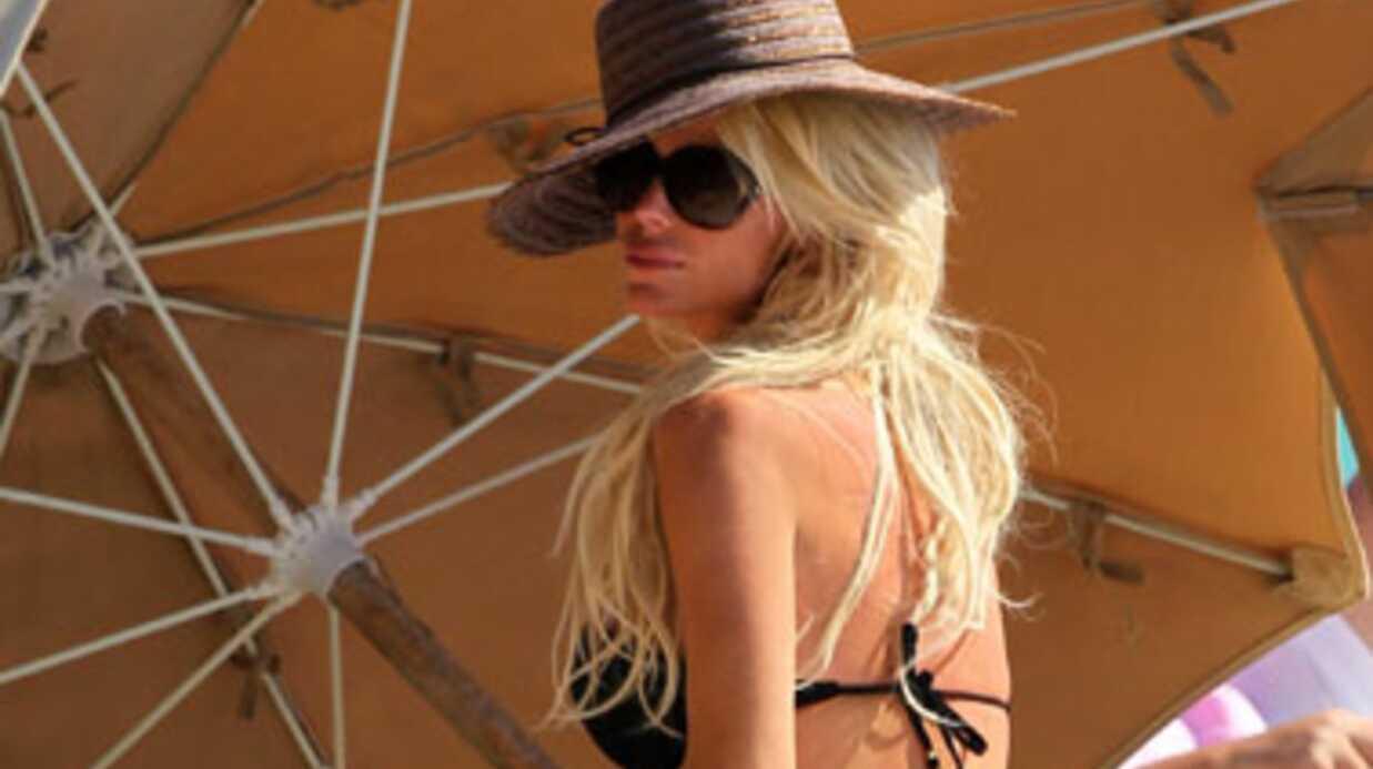 Victoria Silvstedt à Miami avec un Français très sexy