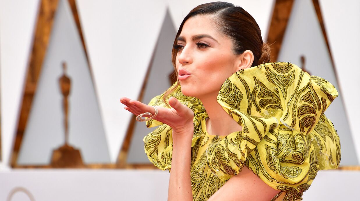PHOTOS Oscars 2017: sa robe très fendue trahit Blanca Blanco, elle en montre trop