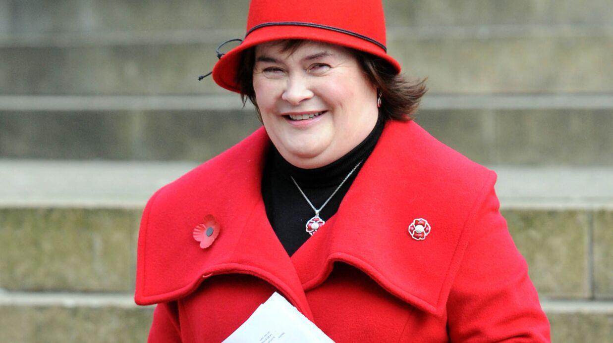 Susan Boyle postule pour être caissière dans sa ville d'origine