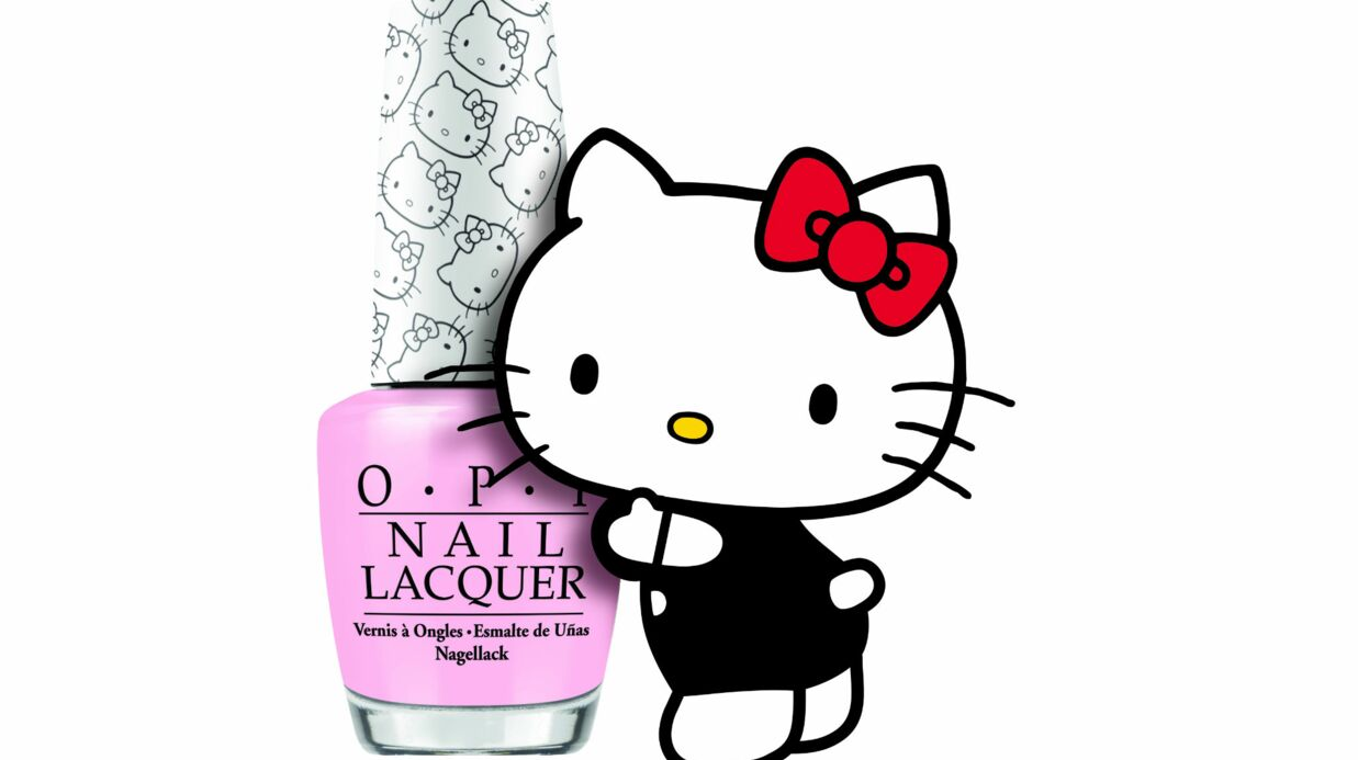 Hello Kitty by OPI : une collec­tion de vernis à ongles Kawaii