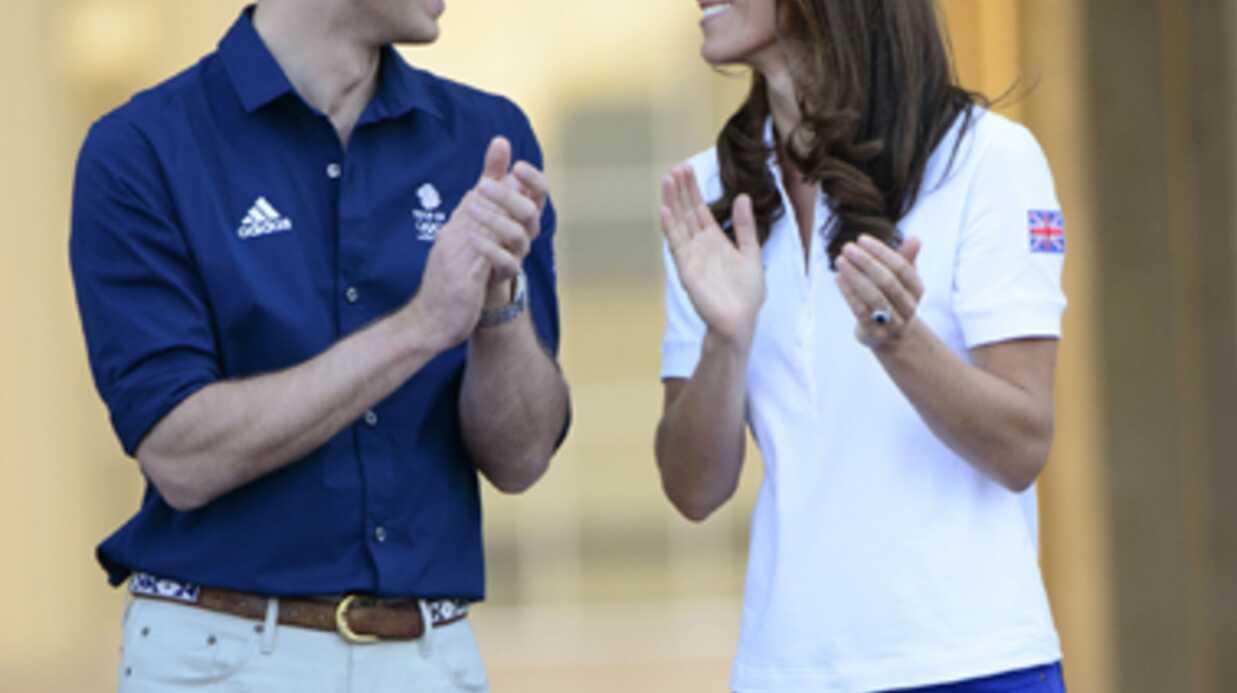 PHOTOS Le prince William et Kate Middleton accueillent la flamme olympique