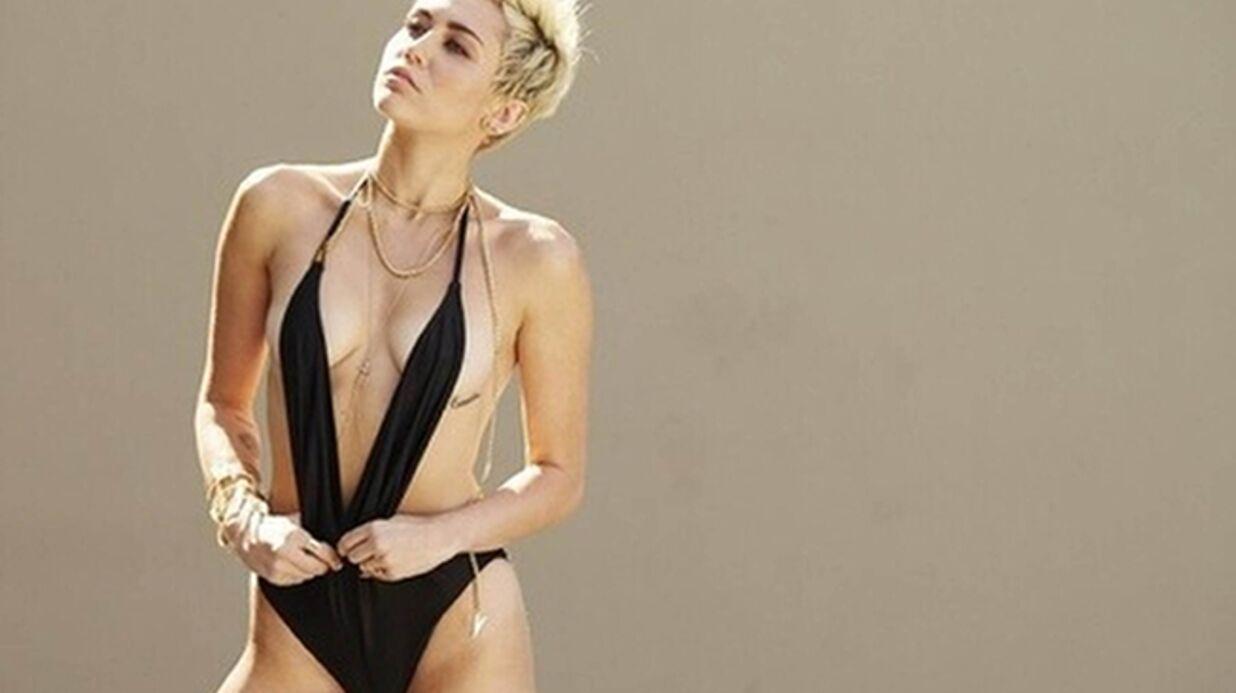 PHOTO Miley Cyrus nue pour lutter contre le cancer de la peau