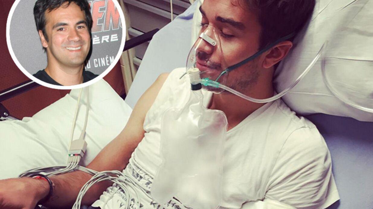 PHOTO Grosse frayeur pour le mari d'Alex Goude, Romain, hospitalisé en urgence