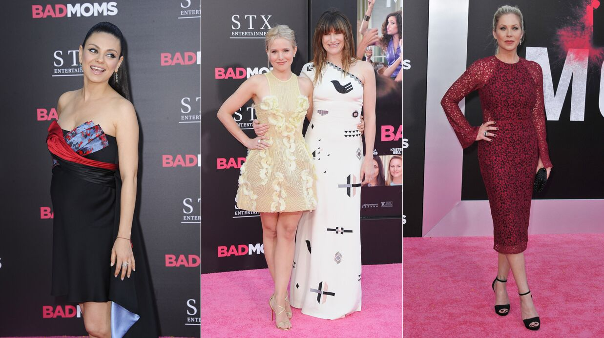 DIAPO Mila Kunis, Kristen Bell et Christina Applegate hyper chic pour Bad Moms