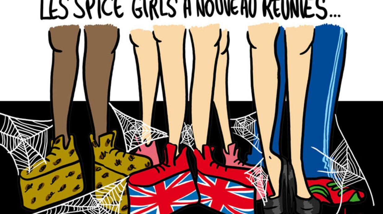 Louison a croqué… les retrouvailles des Spice Girls