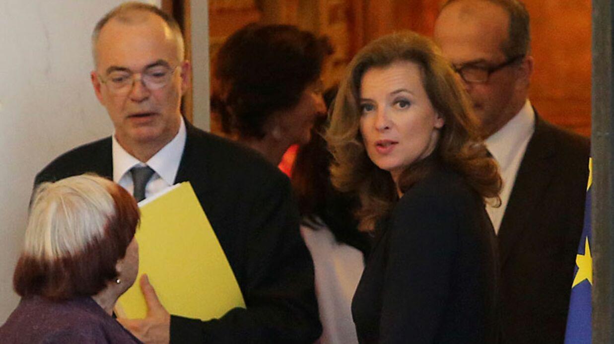 PHOTOS Valérie Trierweiler fait profil bas à l'Élysée