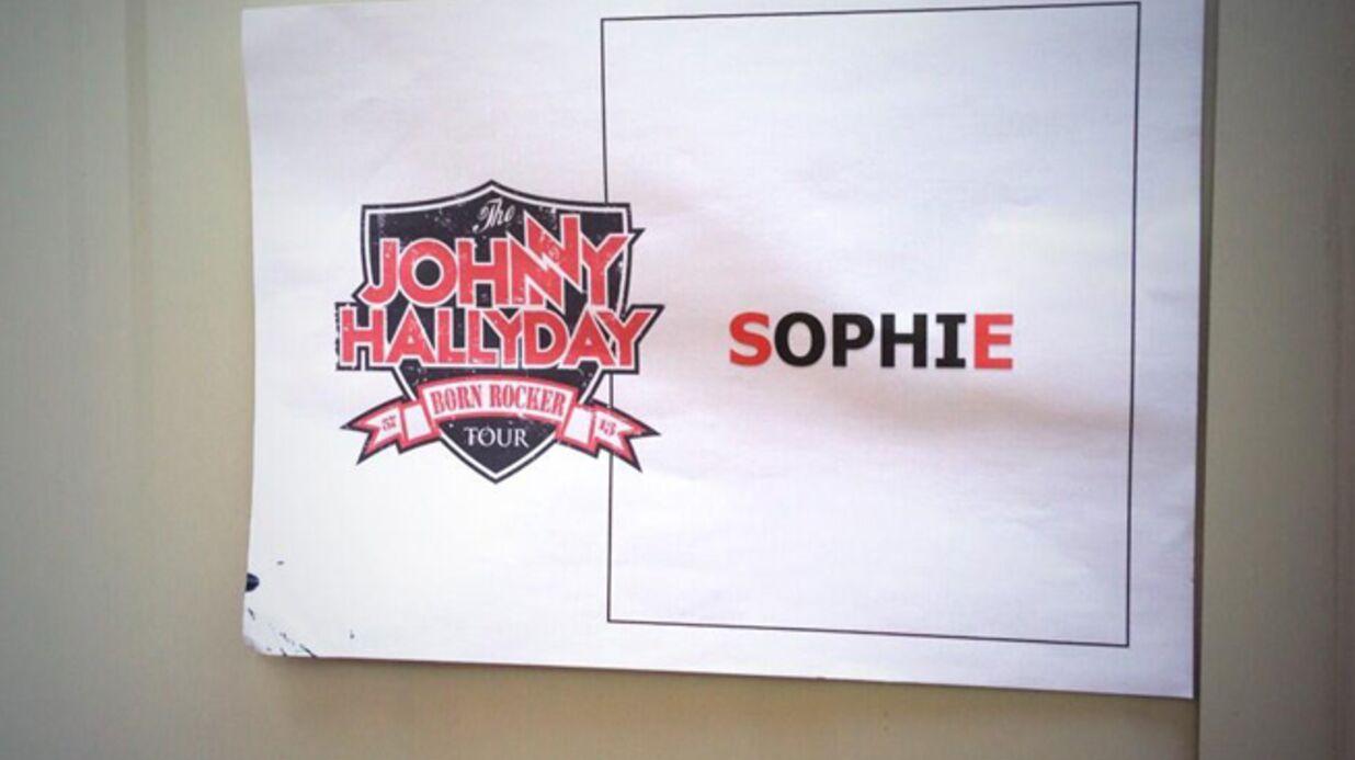 Sophie Tapie assure la première partie de Johnny Hallyday à Nîmes