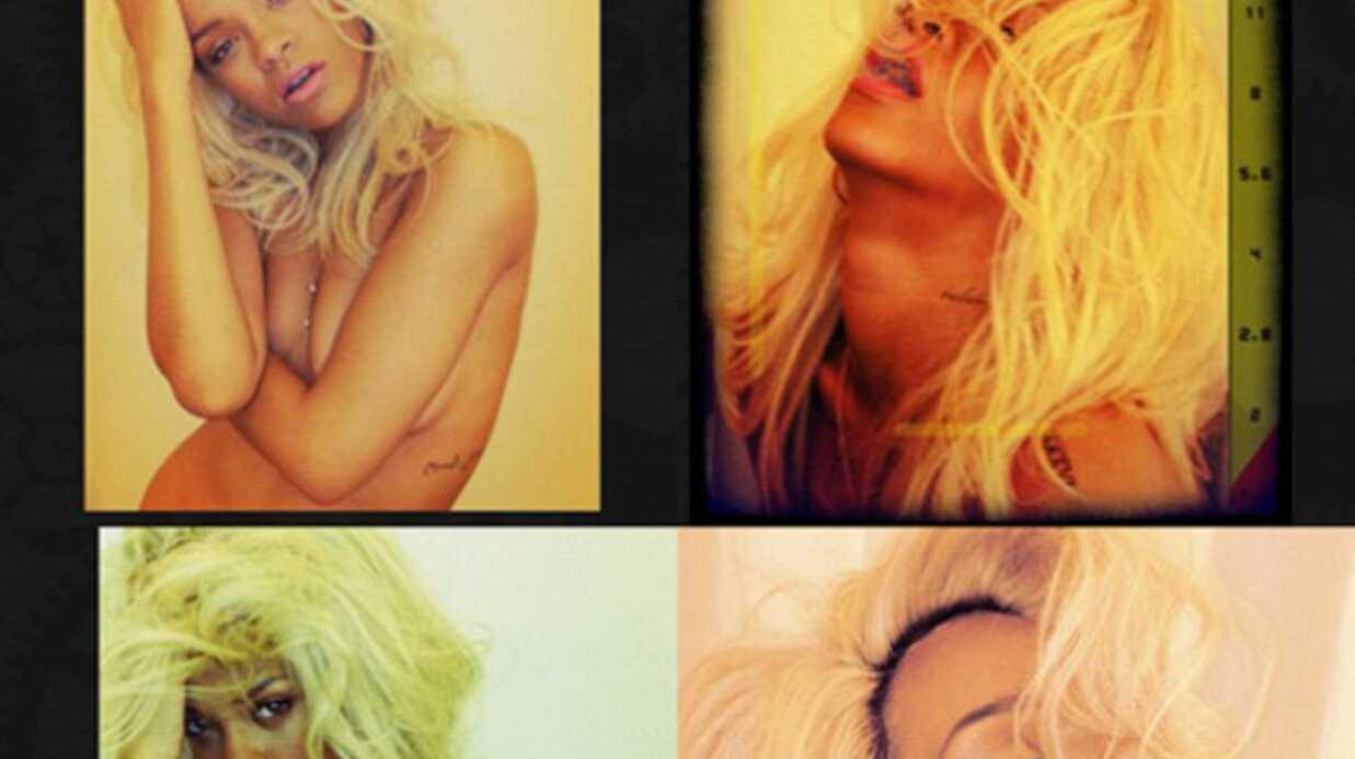 PHOTOS Rihanna: nue et blonde pour son nouveau parfum