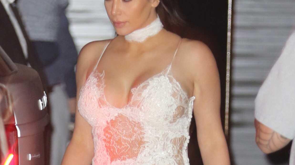 PHOTOS La robe indécente de Kim Kardashian pour l'anniversaire de Scott Disick