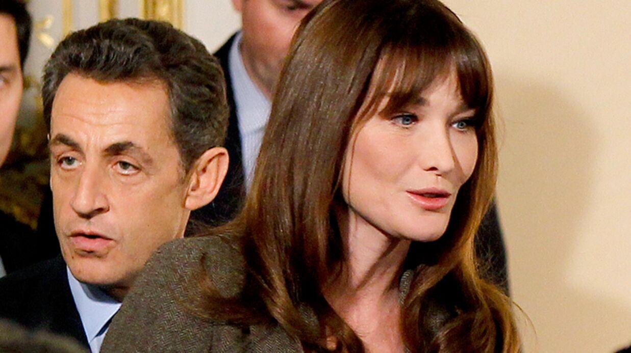 Carla Bruni en larmes à l'évocation de la mise en examen de Nicolas Sarkozy