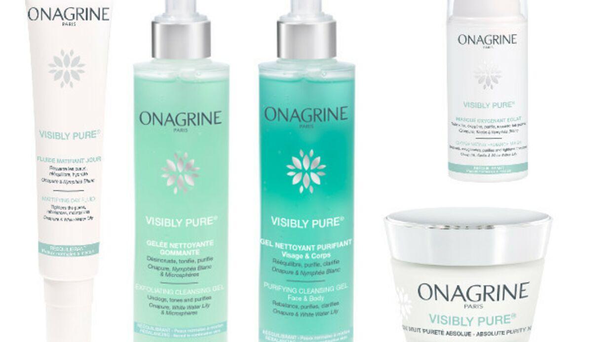 Onagrine rééquilibre les peaux mixtes