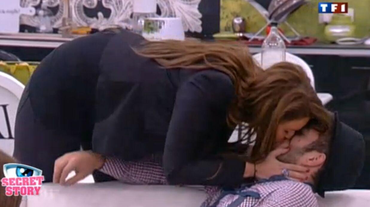VIDEO Secret Story 5: Aurélie embrasse Zelko