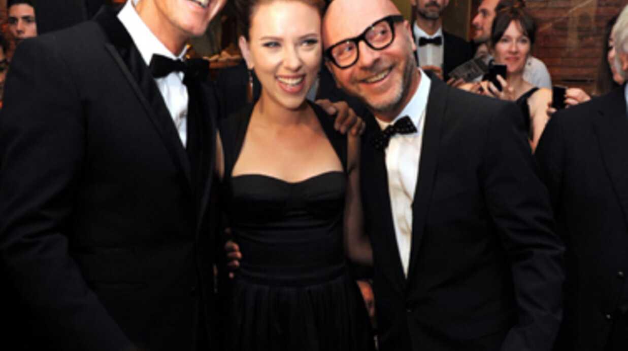 DIAPO Scarlett Johansson: première apparition après le scandale